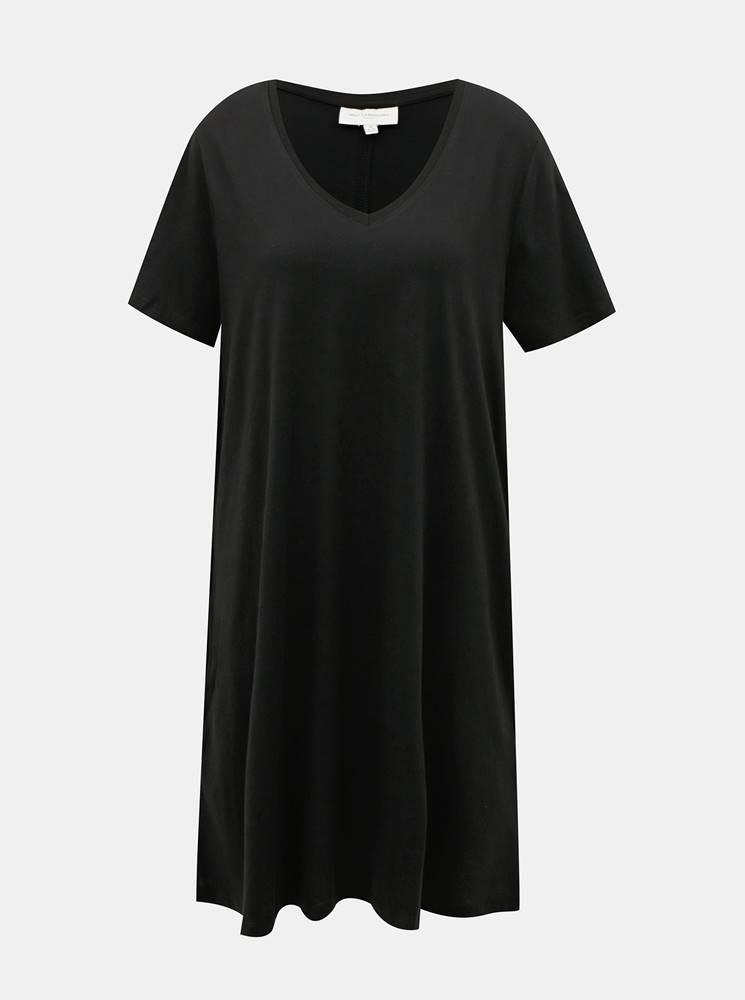 ONLY CARMAKOMA Čierne basic šaty ONLY CARMAKOMA Day