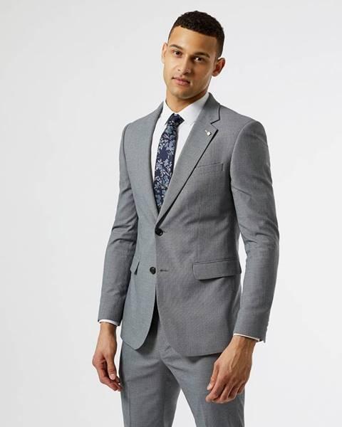 Sivý oblek Burton Menswear London
