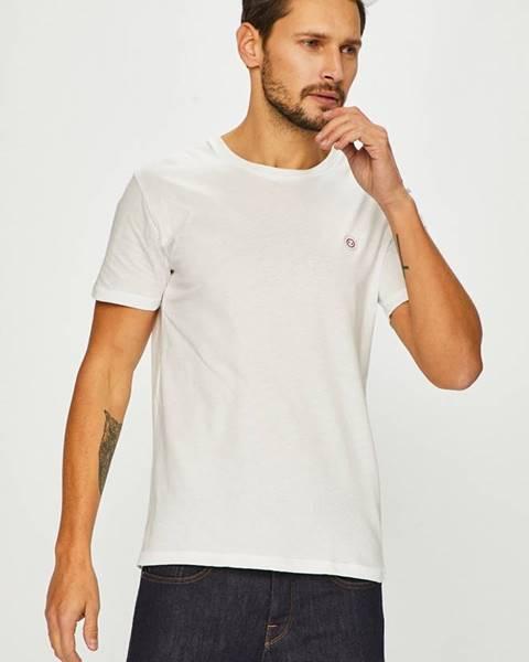 Biele tričko JOHN FRANK