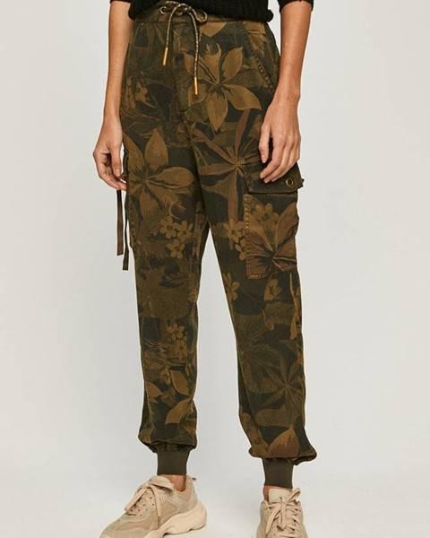 Zelené nohavice Desigual