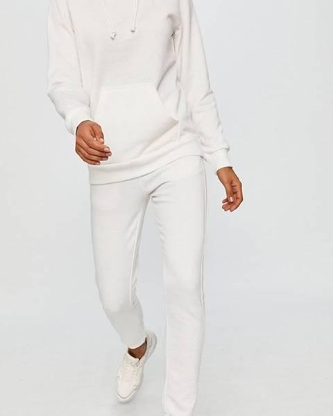 Biele nohavice Answear Lab