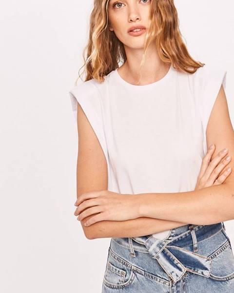 Biele tričko Answear Lab