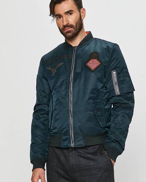 Tmavomodrá bunda Pepe jeans
