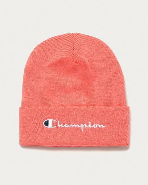 Ružová čiapka Champion
