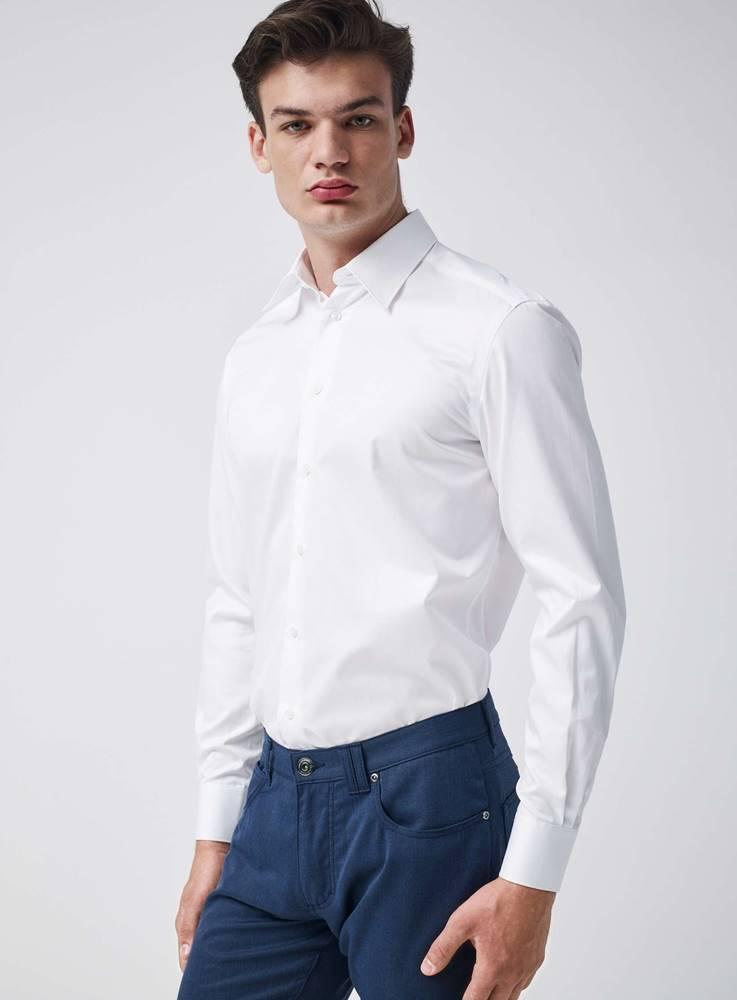 Pietro Filipi Pánska košeľa  biela