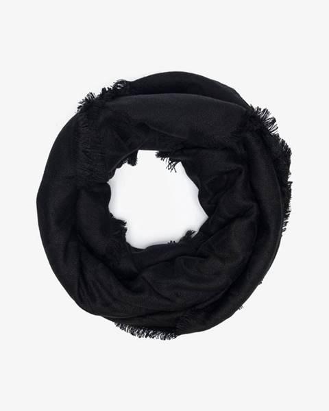 Čierna šatka Calvin Klein