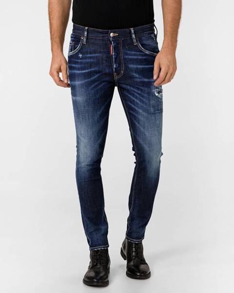 Modré nohavice DSQUARED2