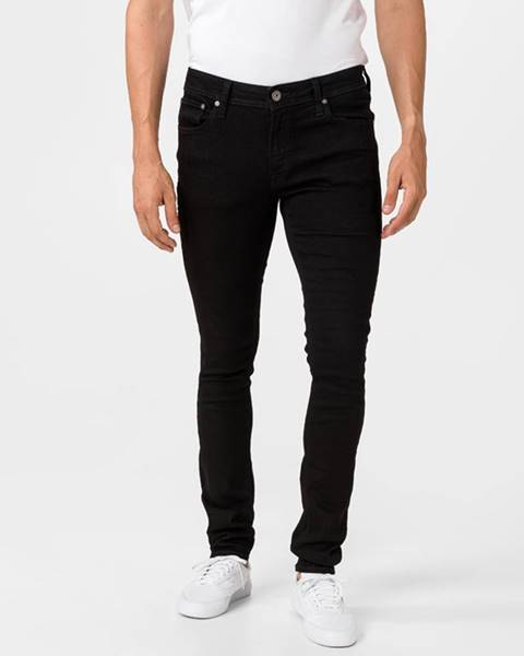 Čierne nohavice Jack & Jones