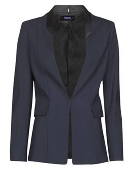 Modrá bunda Karl Lagerfeld