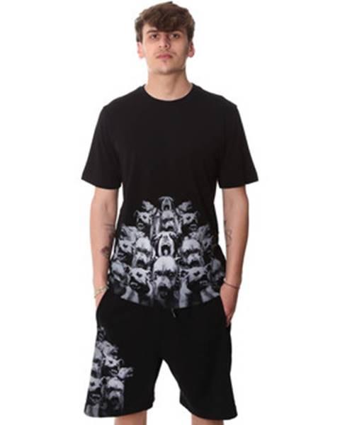 Čierne tričko Sprayground