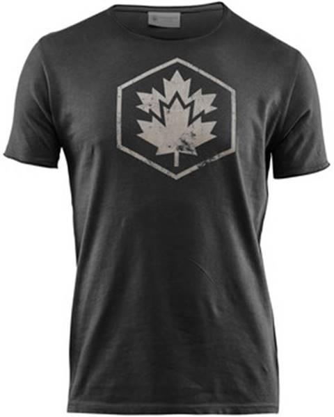 Čierne tričko Lumberjack