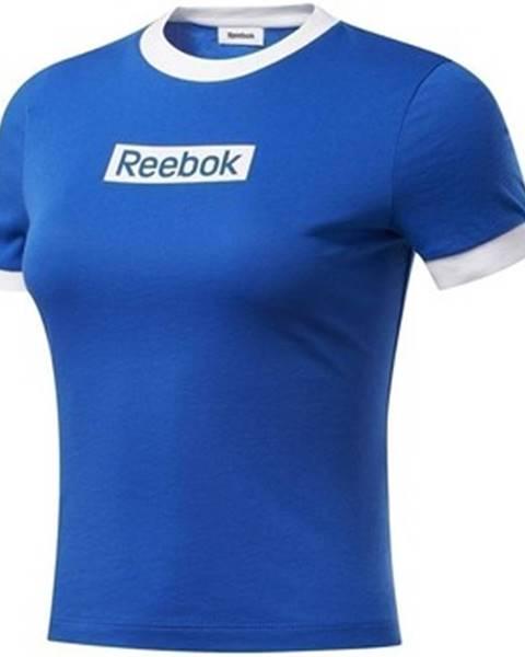 Modré tričko Reebok Sport