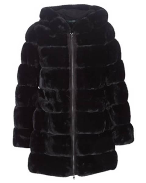 Čierny kabát Lauren Ralph Lauren