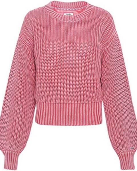 Ružový sveter Tommy Hilfiger