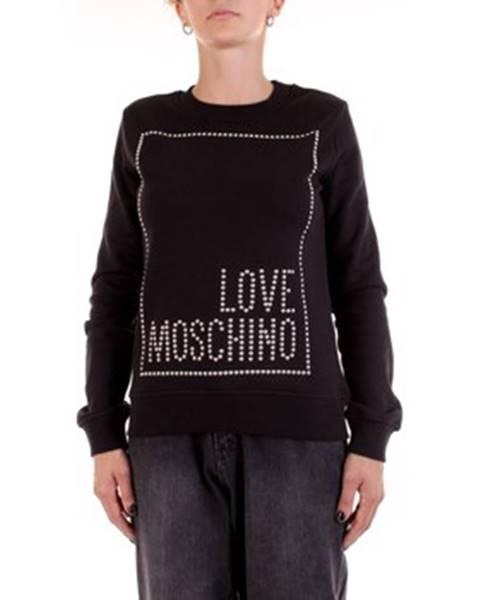 Čierna mikina Love Moschino