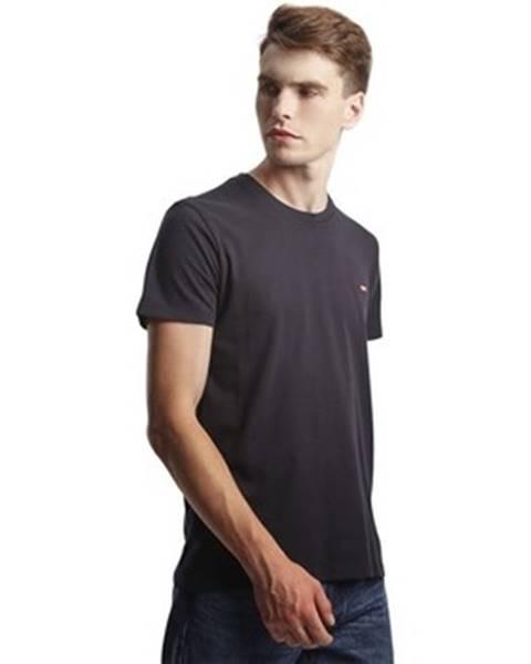 Čierne tričko Levis