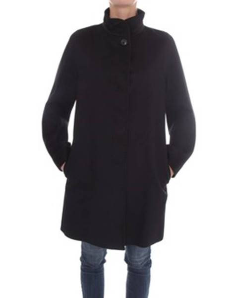Čierny kabát Max Mara