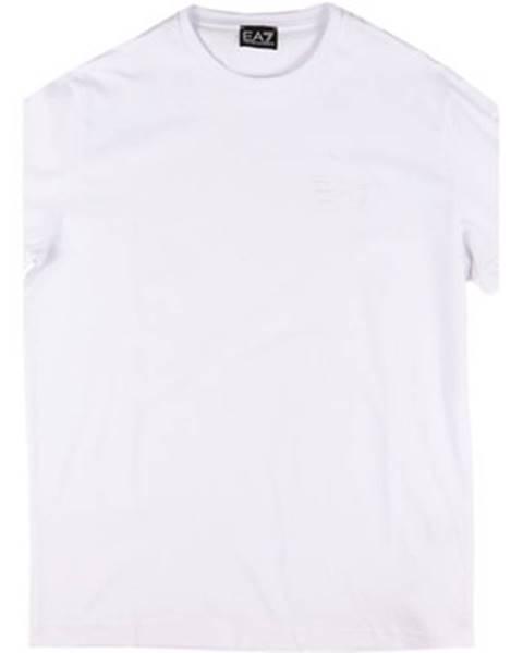 Biele tričko Emporio Armani EA7