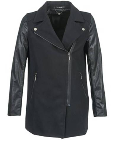 Čierny kabát Fornarina