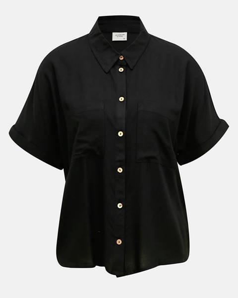 Čierna košeľa Jacqueline de Yong
