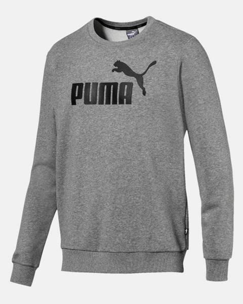 Sivá mikina Puma