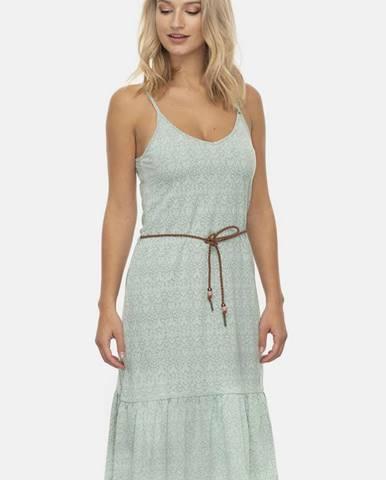 Svetlozelené šaty Ragwear