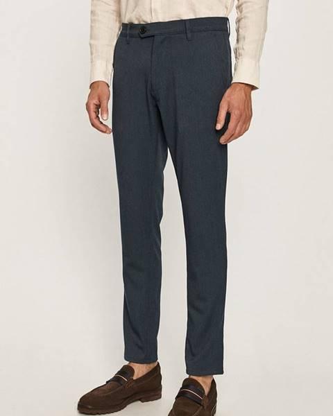 Tmavomodré nohavice Tailored & Originals