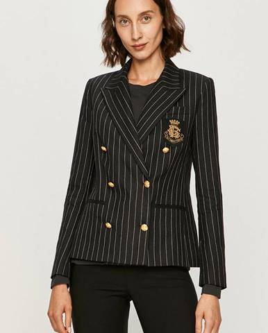 Čierne sako Polo Ralph Lauren