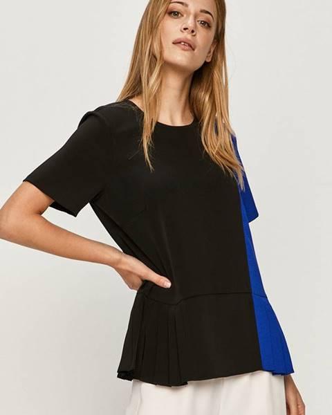 Čierna blúzka DKNY