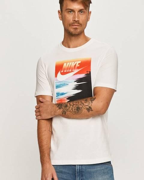 Biele tričko Nike Sportswear