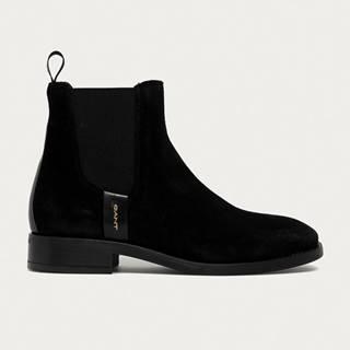 Gant - Kožené topánky Chelsea Fayy