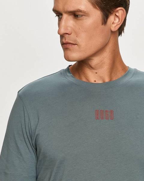 Sivé tričko HUGO