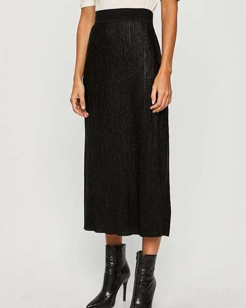 Čierna sukňa HUGO