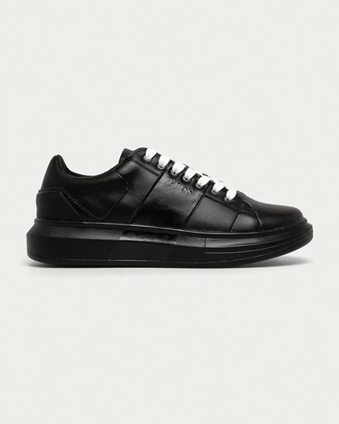Čierne topánky Guess Jeans