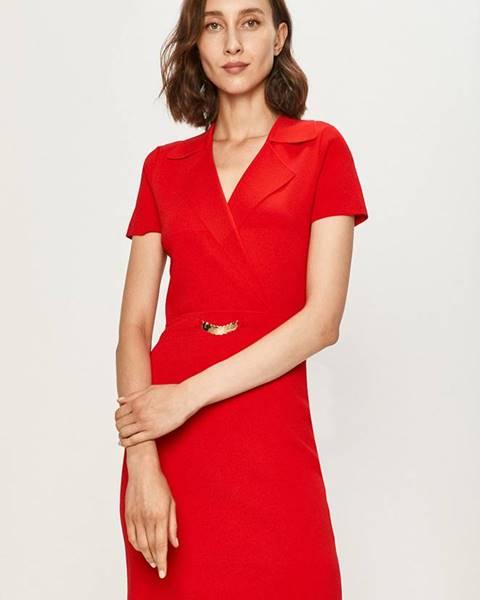 Červené šaty Morgan