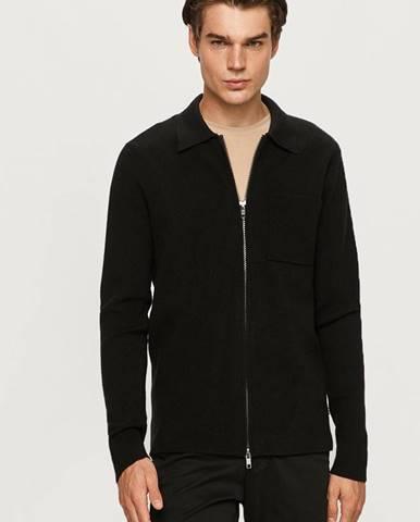 Čierna bunda Tailored & Originals
