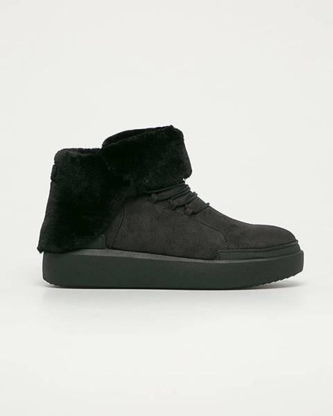 Čierne zimná obuv Big Star