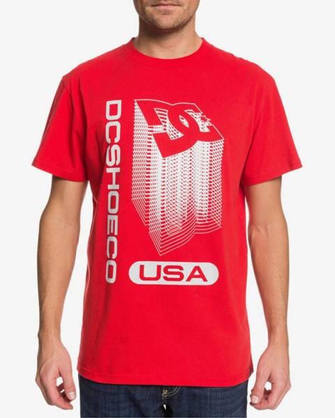 Červené tričko DC