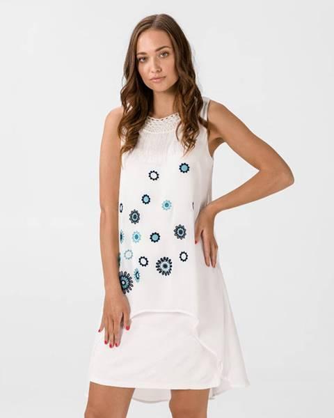 Biela sukňa Desigual