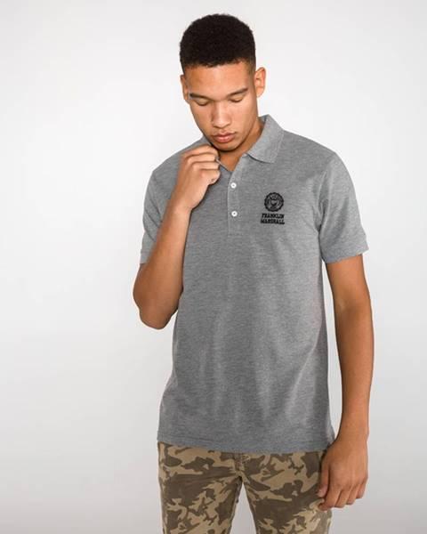 Sivé tričko Franklin & Marshall