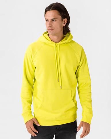 Žltá bunda s kapucňou Diesel