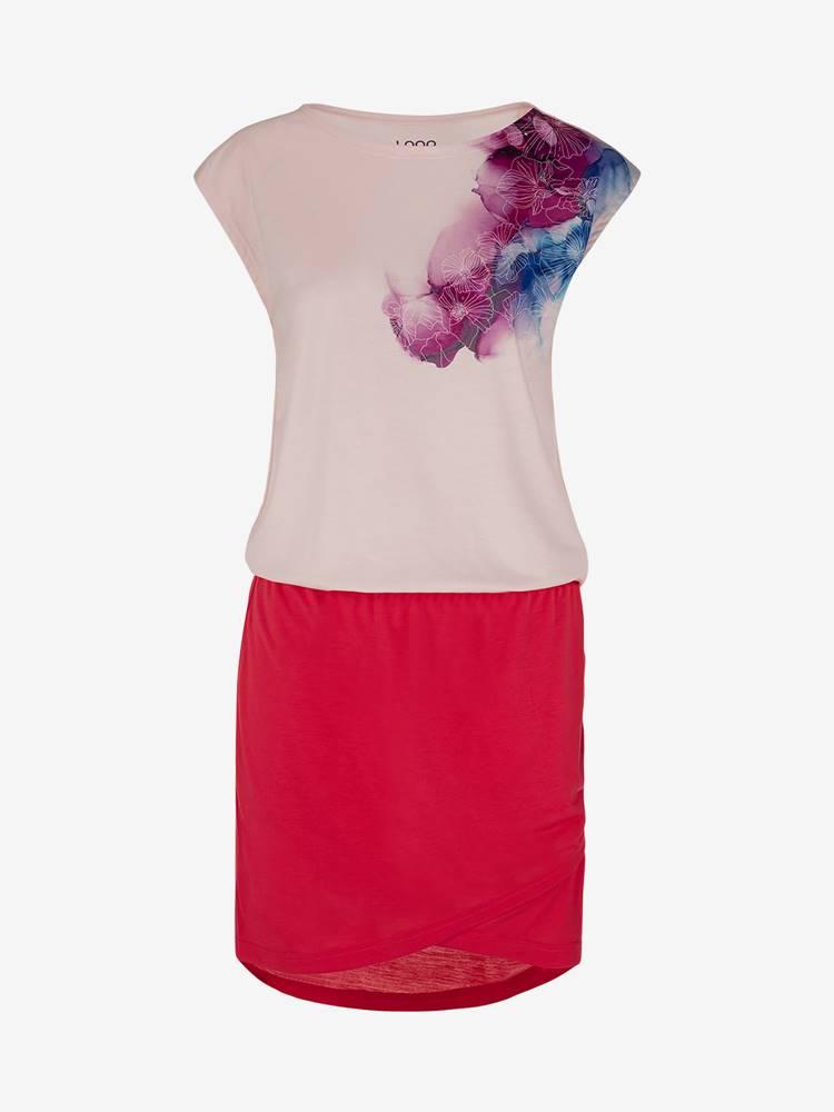 LOAP Šaty Loap Algera Růžová