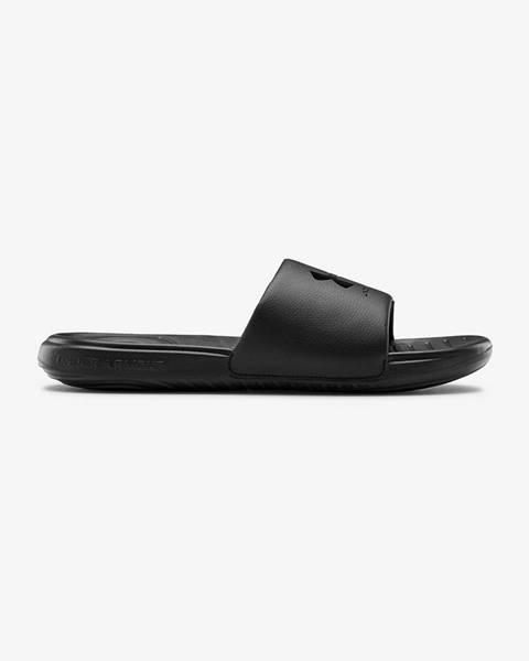 Čierne papuče Under Armour