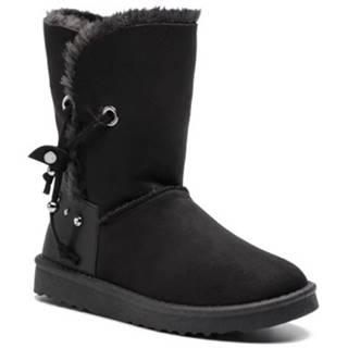Členkové topánky Jenny Fairy WS1655-41 Materiał tekstylny,koža ekologická