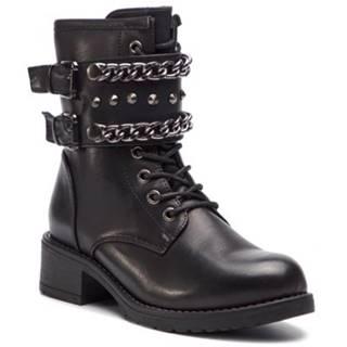 Šnurovacia obuv Jenny Fairy WS16357-26 koža ekologická
