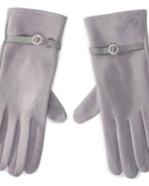 Sivé rukavice ACCCESSORIES
