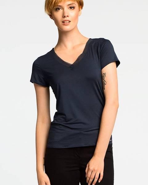 Tmavomodré pyžamo Calvin Klein Underwear