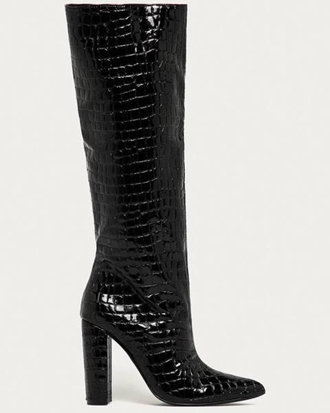 Čierne čižmy Steve Madden