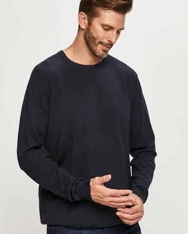 Tmavomodrý sveter Wrangler