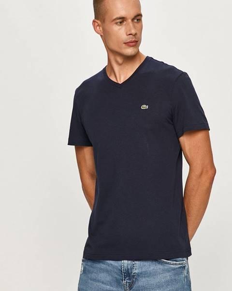 Tmavomodré tričko Lacoste